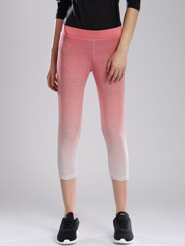 Kappa Peach-Coloured Track Pants at myntra