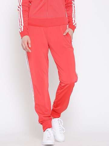 Adidas NEO Women Coral Pink FR Track Pants at myntra