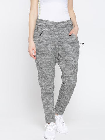 Adidas Grey Melange ZNE ROADTR Track Pants at myntra