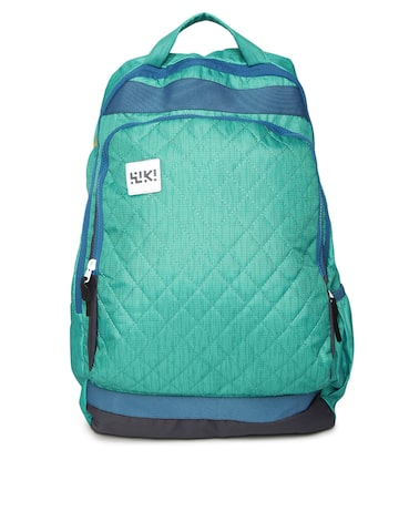 Wildcraft Unisex Green & Yellow Toss Quilted Reversible Backpack at myntra