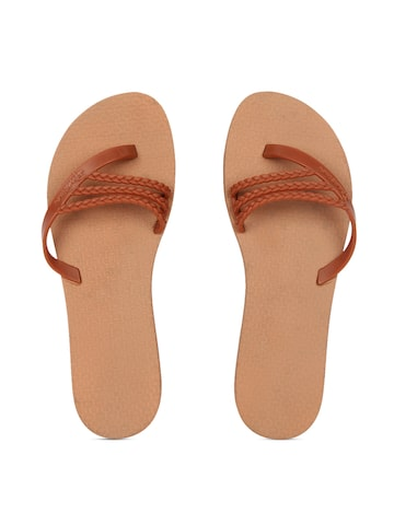iPanema Women Brown Flip-Flops at myntra