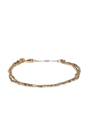 Accessorize Gold-Plated Multistranded Bracelet at myntra