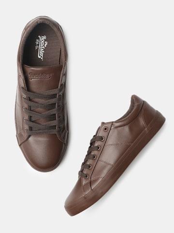 Roadster Men Brown Sneakers Roadster Casual Shoes at myntra