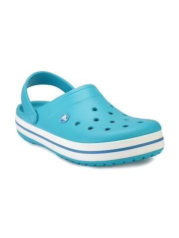 Crocs Men Blue Clogs at myntra
