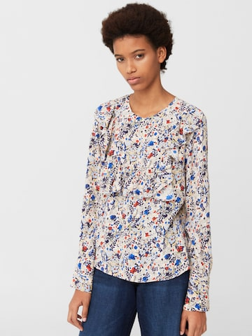 MANGO Women Multicoloured Printed Top at myntra