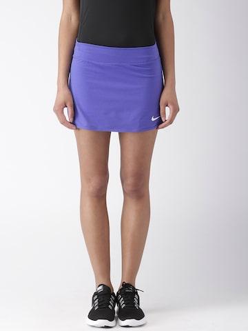 Nike Purple AS W NKCT Skorts at myntra