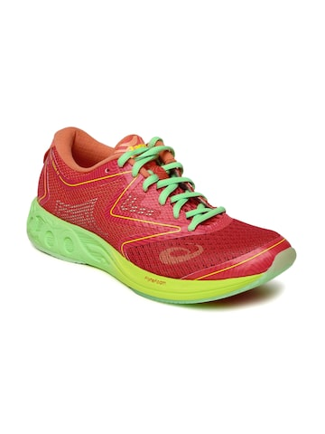 ASICS Women Coral Red NOOSA FF Running Shoes at myntra