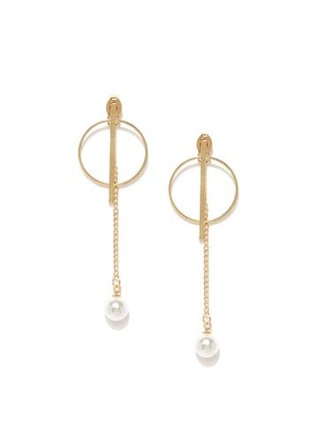 ToniQ Gold-Toned Ear Jackets at myntra