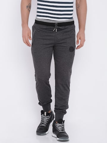 Sports52 wear Charcoal Grey Track Pants at myntra