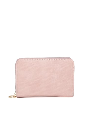 Lisa Haydon for Lino Perros Women Pink Zip-Around Wallet at myntra