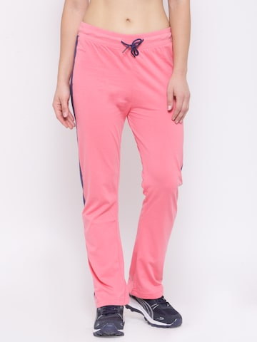 Proline Active Coral Pink Training Track Pants at myntra