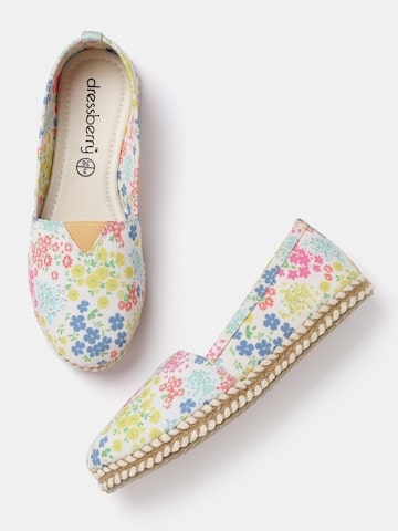 DressBerry Women Multicoloured Printed Espadrilles DressBerry Casual Shoes at myntra