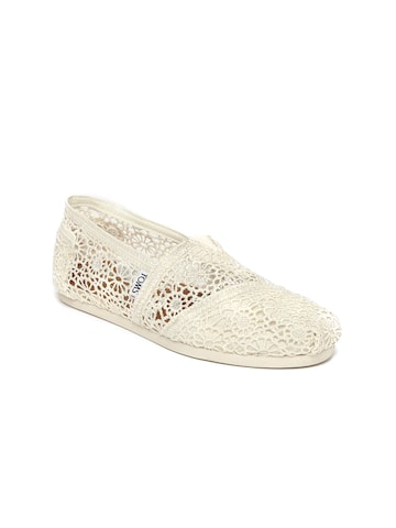 Catwalk Women Off-White Espadrilles Catwalk Casual Shoes at myntra