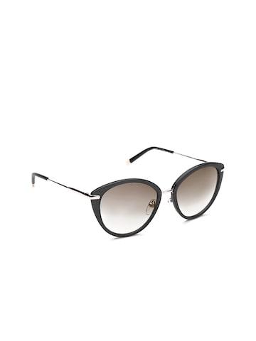 Calvin Klein Women Cateye Sunglasses CK1233S 001 at myntra