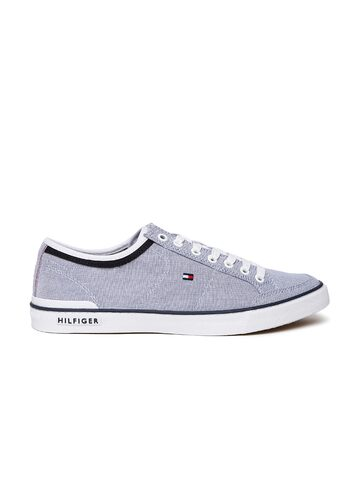 Tommy Hilfiger Men Blue Sneakers at myntra