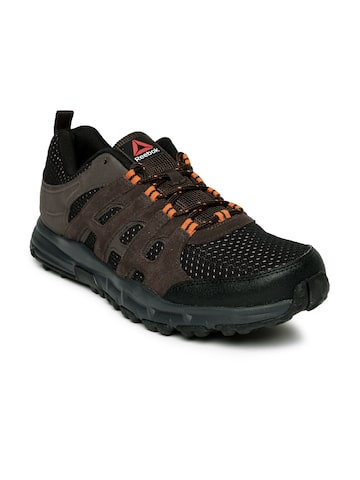 Reebok Men Brown ADVENTURE VOYAGER Trekking Shoes at myntra