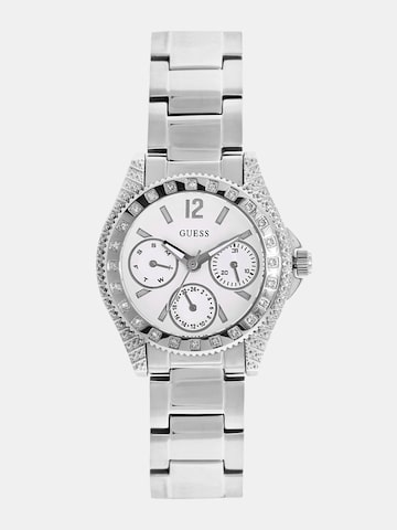 GUESS Women White Multifunction Watch W0938L1 at myntra