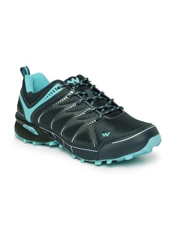 Wildcraft Men Blue Furry Running Shoes at myntra