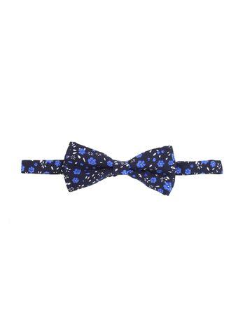 Alvaro Castagnino Blue Floral Print Bow Tie at myntra