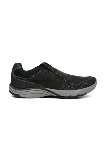 Clarks Men Black Sneakers at myntra