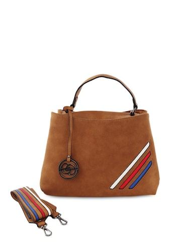 Elespry Tan Brown Solid HandBag Elespry Handbags at myntra