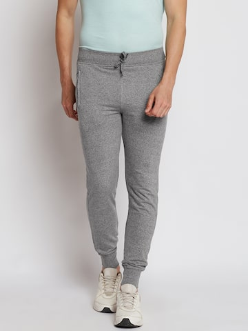 Sports52 wear Grey Melange Joggers Sports52 wear Track Pants at myntra