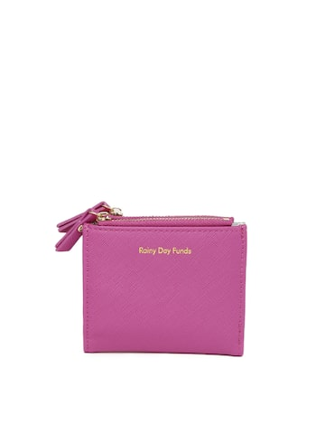 Accessorize Women Pink Solid Two Fold Wallet at myntra