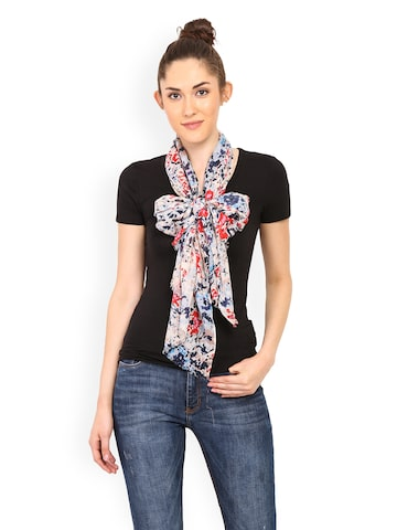 Trend Arrest Multicoloured Printed Scarf at myntra