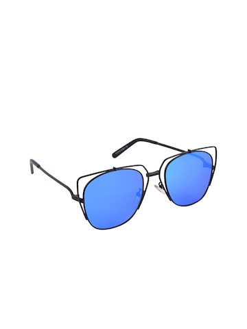 6by6 Unisex Mirrored Square Sunglasses 6B6SG1974 at myntra