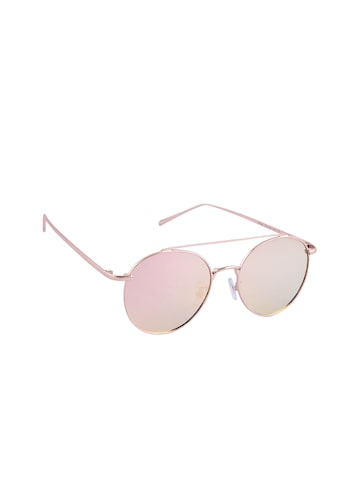 6by6 Unisex Mirrored Round Sunglasses 6B6SG1981 at myntra