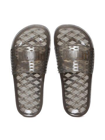 Puma Women Grey Comfort Sandals Puma Sandals at myntra