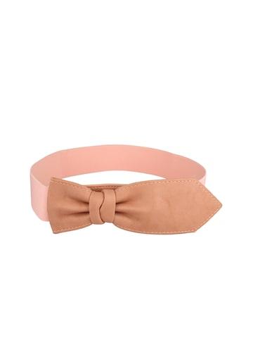 20Dresses Women Pink Solid Belt at myntra