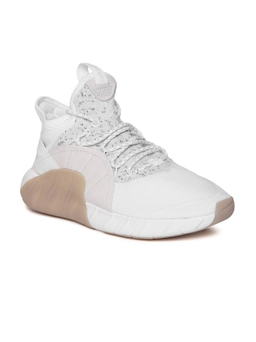 Adidas Originals Men White Tubular Rise Mid-Top Sneakers Adidas Originals Casual Shoes at myntra