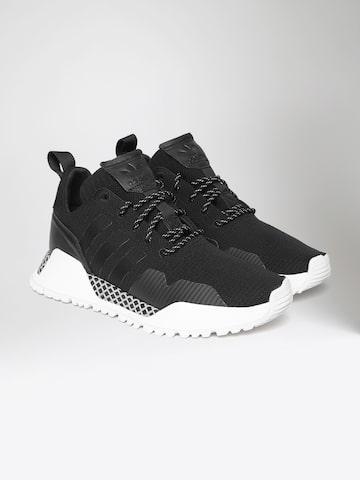 Adidas Originals Men Black Solid Mid-Top Sneakers Adidas Originals Casual Shoes at myntra