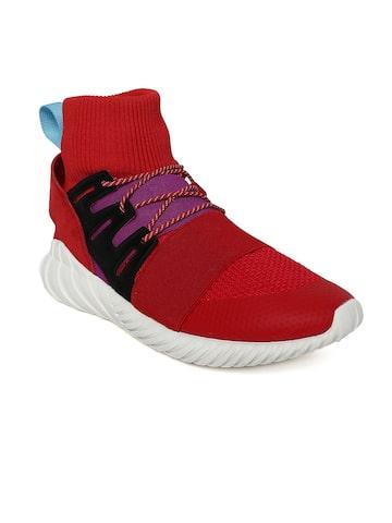 Adidas Originals Men Red TUBULAR DOOM WINTER Sneakers Adidas Originals Casual Shoes at myntra