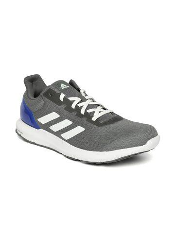 Adidas Men Grey Melange Cosmic 2 Running Shoes at myntra