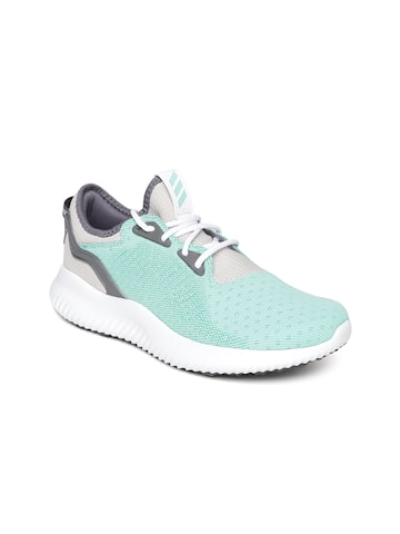 Adidas Women Green Alphabounce Lux Running Shoes Adidas Sports Shoes at myntra