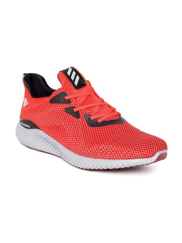 Adidas Men Red ALPHABOUNCE 1 Running Shoes at myntra