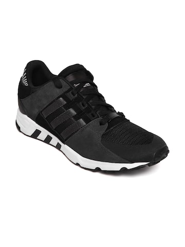 Adidas Originals Men Black EQT Support RF Sneakers at myntra
