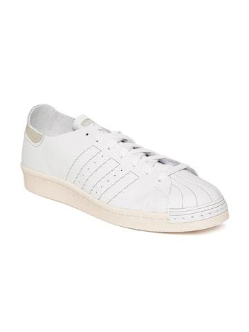 Adidas Originals Men White Superstar 80S Decon Sneakers at myntra