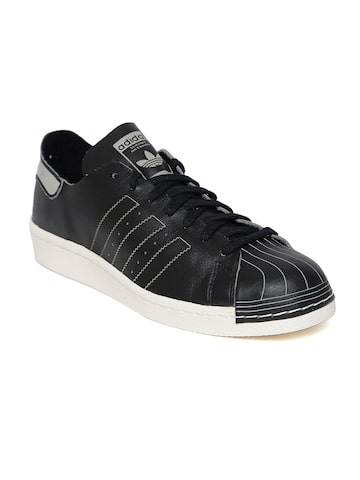 Adidas Originals Men Black SUPERSTAR 80S DECON Sneakers at myntra