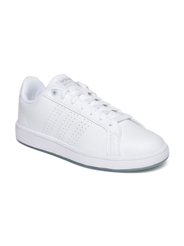 Adidas NEO Women White CF ADVANTAGE CL Sneakers at myntra