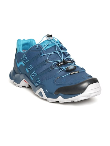 Adidas Men Teal Blue Outdoor Shoes at myntra