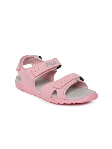 FILA Women Pink Burk W'S Sports Sandals at myntra