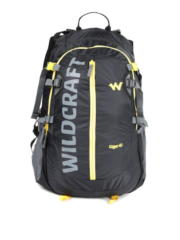 Wildcraft Unisex Black Eiger Rucksack Wildcraft Rucksacks at myntra