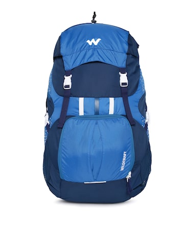 Wildcraft Unisex Blue Zephyr 40 Rucksack at myntra
