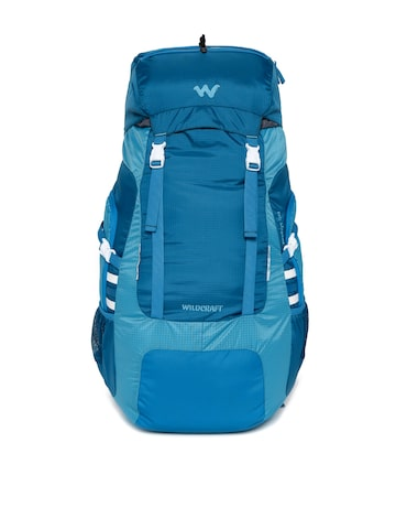 Wildcraft Unisex Blue Zephyr 50 Rucksack at myntra