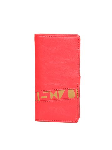 Baggit Women Red Solid Two Fold Wallet at myntra