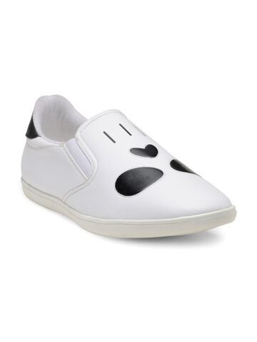 Franco Leone Men White Loafers Franco Leone Casual Shoes at myntra
