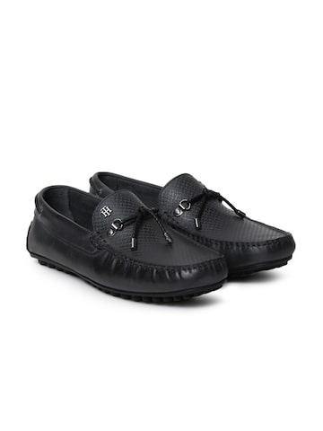 Tommy Hilfiger Men Black Loafers Tommy Hilfiger Casual Shoes at myntra